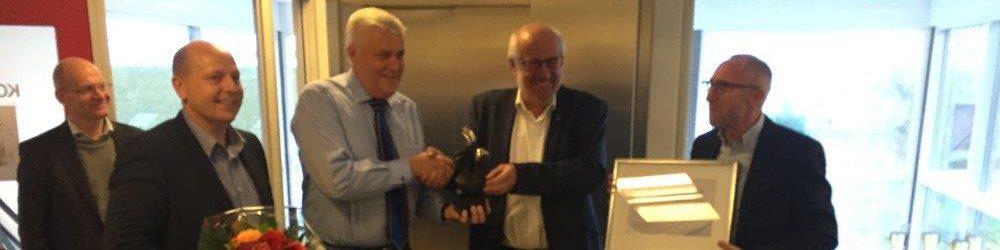 Aage Vestergaard Larsen A/S modtager hæderspris for genanvendelse af plast