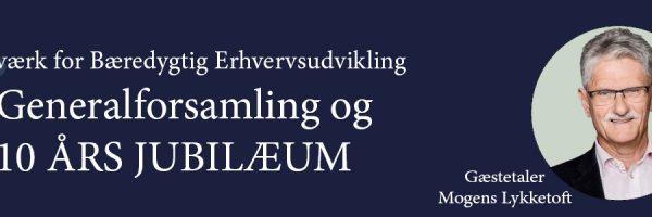 25. april 2018: NBE 10 års jubilæum og generalforsamling