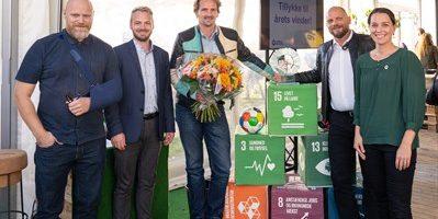 Medlemsvirksomhed vinder Aalborg Bæredygtighedspris 2018