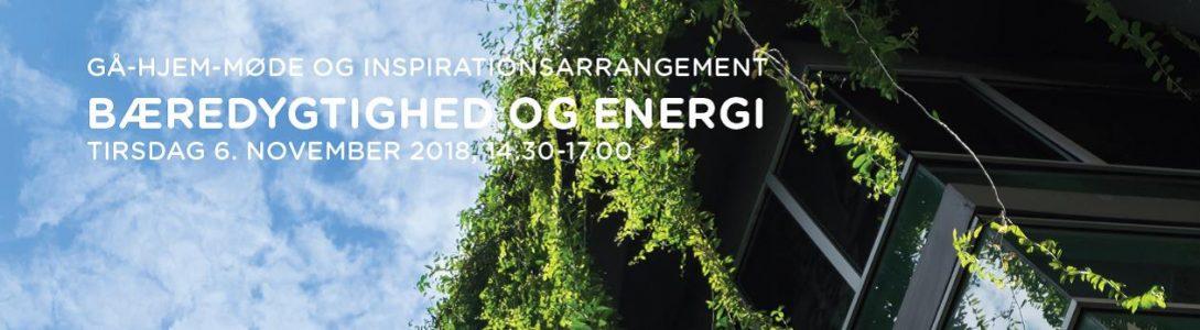 6. november 2018: Gå Hjem Møde om bæredygtighed og energiledelse